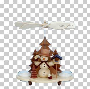 Christmas Pyramid Christmas Ornament Snowman Santa Claus PNG
