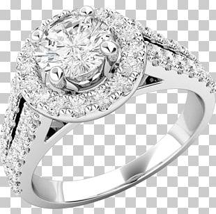 Engagement Ring Diamond Brilliant PNG