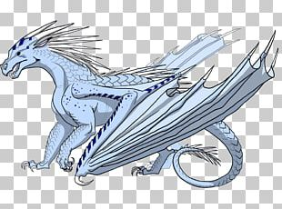 Wings Of Fire Dragon Color Fire Breathing Blue PNG
