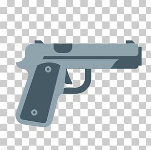 Computer Icons Firearm Weapon Pistol Gun PNG