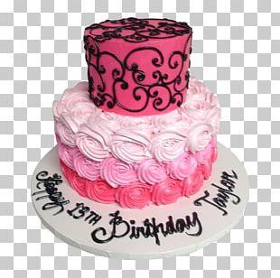 Birthday Cake Frosting & Icing Torte Princess Cake PNG