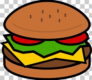 Hamburger Hot Dog Cheeseburger Fast Food PNG