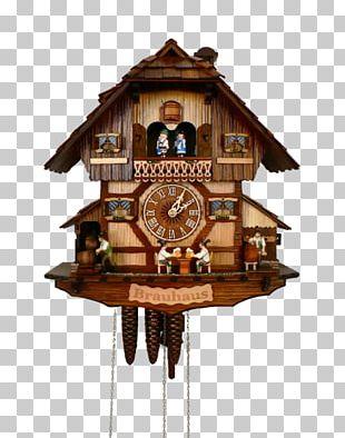 Cuckoo Clock Black Forest House Movement Quartz Clock PNG