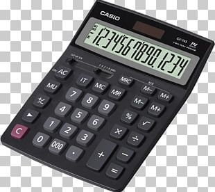 Amazon.com Scientific Calculator Casio DJ-120D PNG