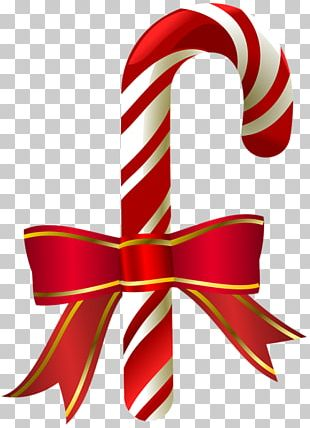 Candy Cane Ribbon Candy Chocolate Bar Christmas PNG