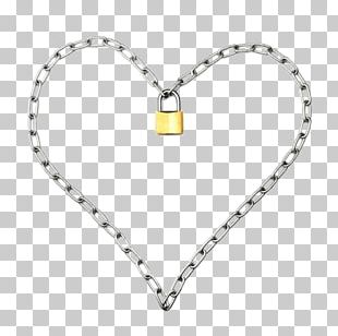 Locket Necklace Chain Bracelet Earring PNG