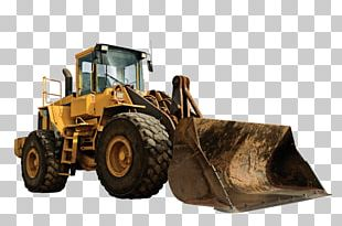 Architectural Engineering Heavy Machinery Bulldozer Sticker PNG