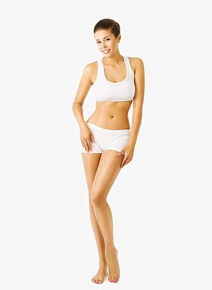 Fitness Thin Woman PNG