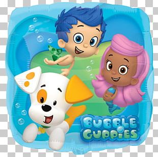 Balloon Mr. Grouper Birthday Party Bubble Puppy! PNG