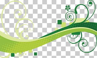 Euclidean Green Wind Wave Wave PNG