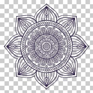 Mandala Drawing Art PNG