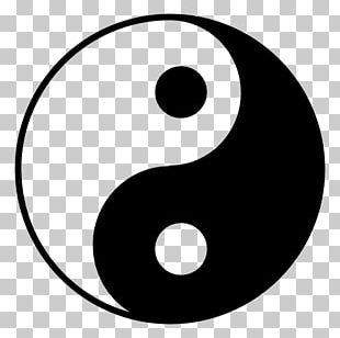 Yin And Yang Taoism Symbol Taijitu Traditional Chinese Medicine PNG