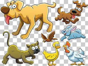 Cartoon Funny Animal Drawing PNG