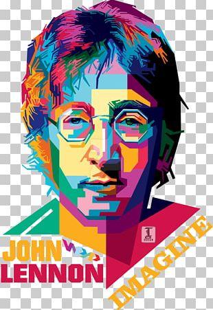 John Lennon T-shirt Artist Pop Art PNG