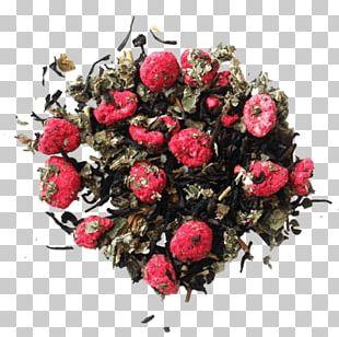 Garden Roses Tea Red Raspberry Leaf Cut Flowers Floral Design PNG