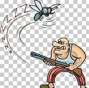 Mosquito Cartoon Animation PNG