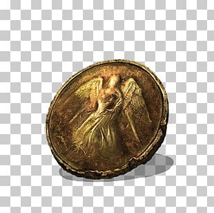 Dark Souls III Gold Coin Video Game PNG