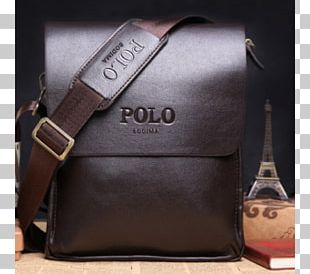Handbag Leather Briefcase Polo Shirt PNG