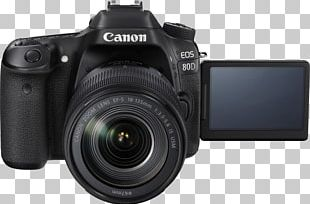 Canon EOS 80D Canon EF-S 18–135mm Lens Canon EF Lens Mount Canon 1276C002 EF-S 18-135 Mm F-3.5-5.6 IS USM Lens PNG