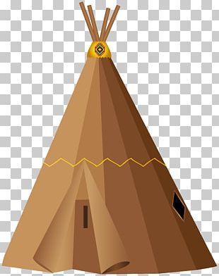 Tipi Pow Wow Yurt Tent PNG