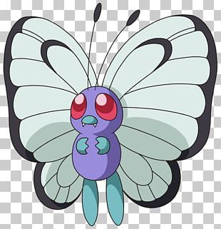 Pokémon X And Y Pikachu Butterfree Monarch Butterfly PNG