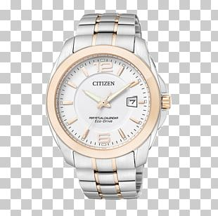 Citizen Holdings Eco-Drive Watch Chronograph Perpetual Calendar PNG