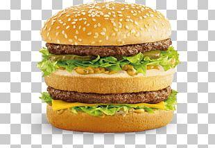 McDonald's Big Mac McDonald's Chicken McNuggets Hamburger McDonald's Quarter Pounder Fast Food PNG