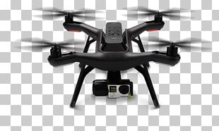 3D Robotics Unmanned Aerial Vehicle 3DR Solo Quadcopter GoPro PNG