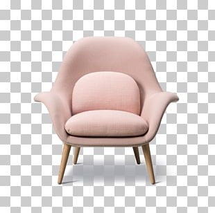 Eames Lounge Chair Furniture Wing Chair Table PNG