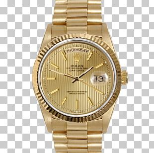 Rolex Datejust Rolex Day-Date Watch Gold PNG