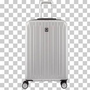 Delsey Suitcase Baggage Trolley Case Samsonite PNG