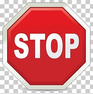 Stop Sign Traffic Sign Safety PNG