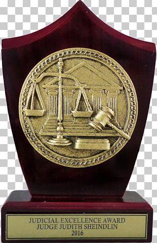 Trophy Award Judge Commemorative Plaque Judiciary PNG