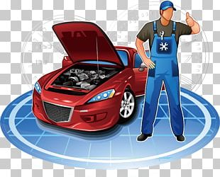 Car Automobile Repair Shop Motor Vehicle Service Auto Mechanic PNG