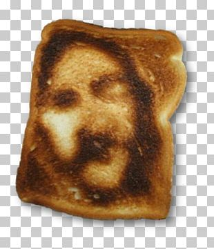 Toast Shroud Of Turin Cheese Sandwich Holy Face Of Jesus Food PNG