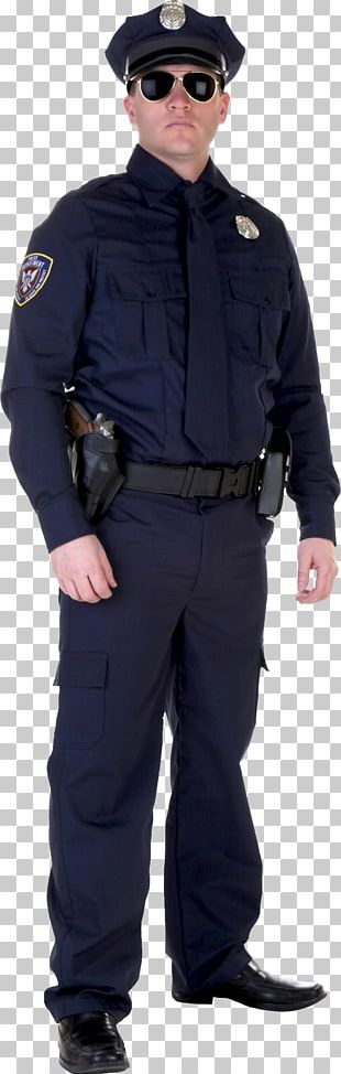 Couple Costume Police Officer Halloween Costume PNG