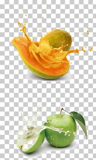 Juice Organic Food Papaya Fruit PNG