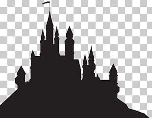 Sleeping Beauty Castle Silhouette PNG