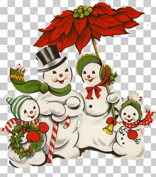 Snowman Christmas Card Greeting & Note Cards PNG