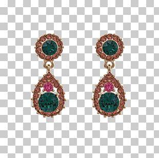 Earring Emerald Jewellery Bracelet Gold PNG