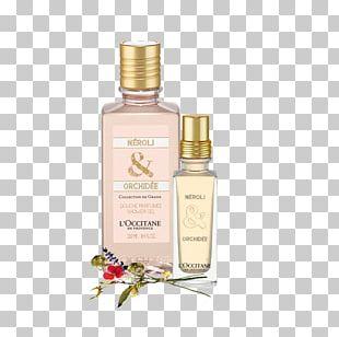 Perfume L'Occitane En Provence L'Occitane Neroli & Orchidee Shower Gel L'Occitane Neroli & Orchidee Shower Gel PNG