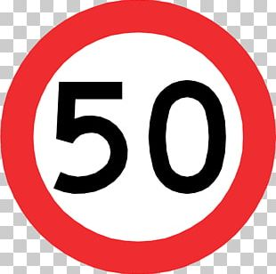 Traffic Sign Speed Limit Road Regulatory Sign PNG