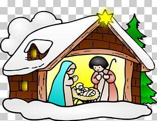Christianity Christmas Nativity Scene PNG