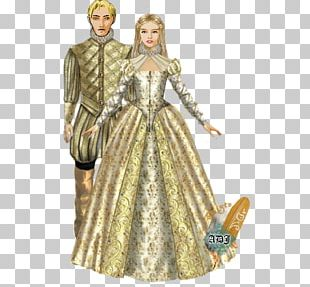 Costume Design Gown Barbie Pattern PNG
