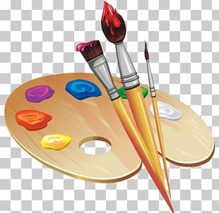 Palette Drawing Painting Art PNG