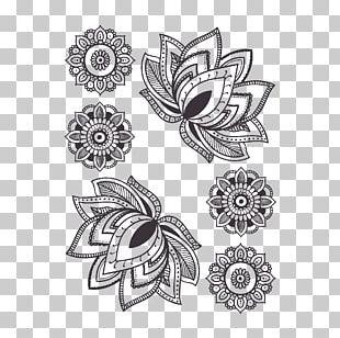 Mandala Water Lily Tattoo Flower Drawing PNG