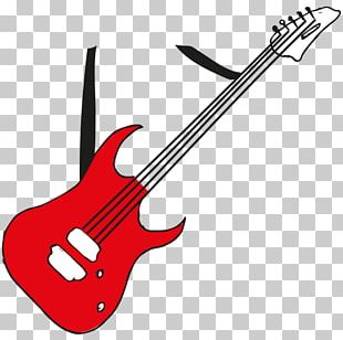 Bass Guitar Electric Guitar String Instruments PNG