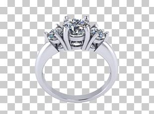 Wedding Ring Body Jewellery Silver PNG