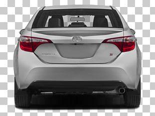 2015 Toyota Corolla S Plus Car 2015 Toyota Corolla S Premium Motor Vehicle Spoilers PNG