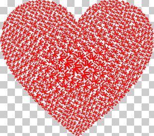 Love Heart Word Cloud PNG